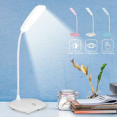 dimmable led desk light reading night lamp