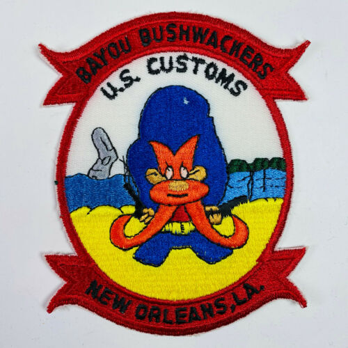 New Orleans Louisiana Bayou Bushwackers Patch