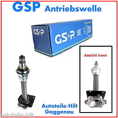 Steckwelle rechts GSP Ford Galaxy SEAT Alhambra VW Sharan  online kaufen