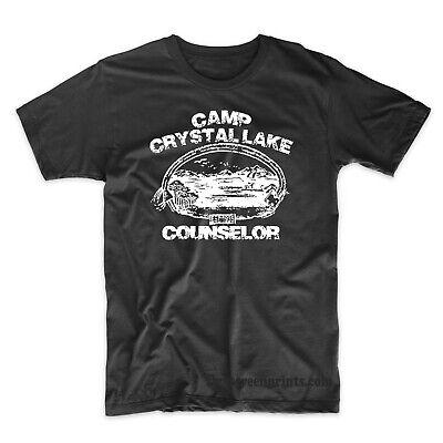Camp Crystal Lake Funny Camping Vintage Horror Novelty Shirts ](Camp Crystal Lake)