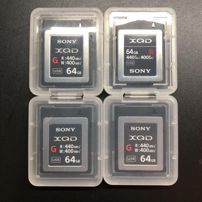 Sony XQD G Series 64GB Memory Card - NEGOTIABLE