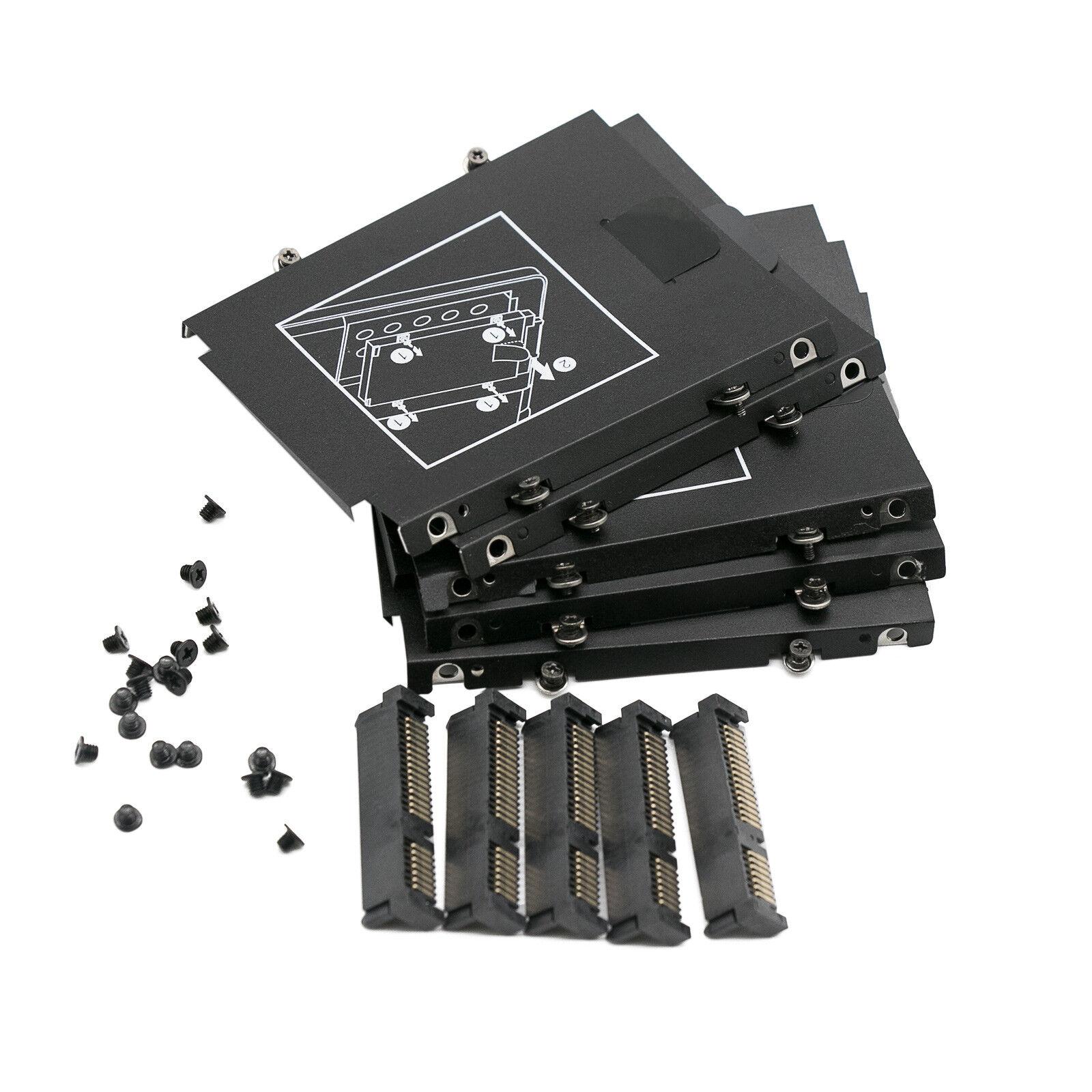 как выглядит Корпус, контейнер или запчасть для жесткого диска 5PCS Generic HP EliteBook Folio 9470M 9480M 9460 SATA Hard Drive Caddy Connector фото