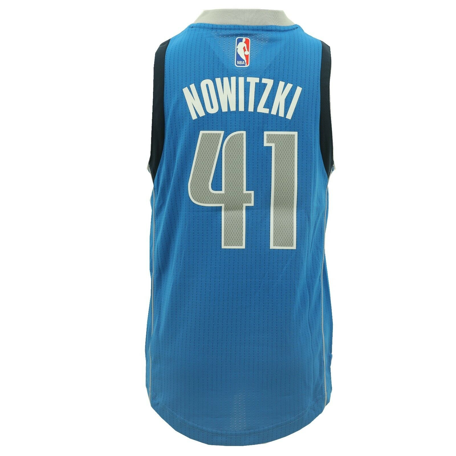 57baadcb7a874 Details about Dallas Mavericks Youth Size Dirk Nowitzki Swingman official  NBA +2