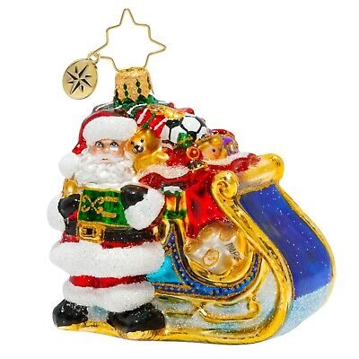 [NEW Christopher Radko DELIVERY ON ITS WAY Christmas Ornament 1020259</Title]