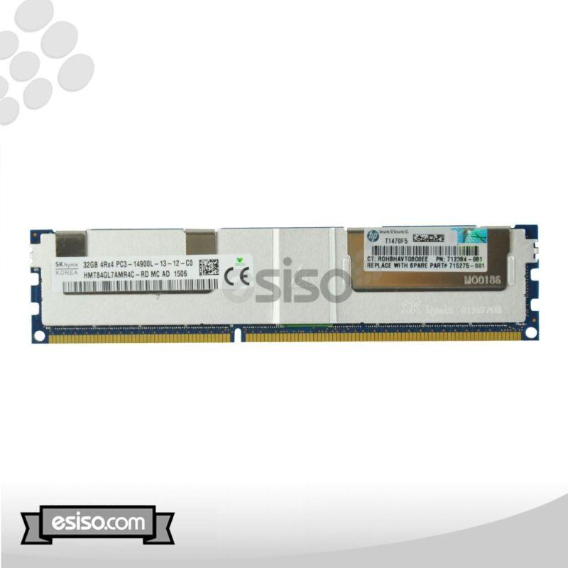 HMT84GL7AMR4C-RD HPE 32GB (1X32GB) 4RX4 PC3-14900L MEMORY (1X32GB) 712384-081