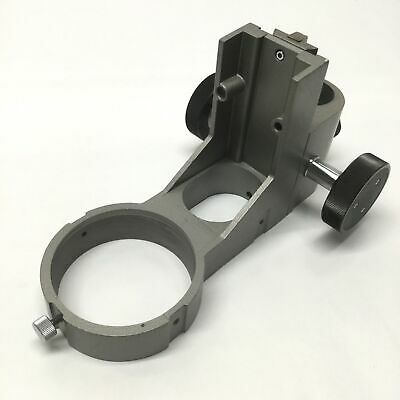 Microscope Holder Adjustable Focus Mounting Ring 76mm Id 60mm Travel 24mm Bore