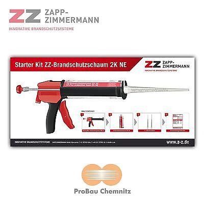 ZZ Brandschutzschaum 2K NE 380ml Starterset inkl. Pistole, ETA-11/0206, Klasse E