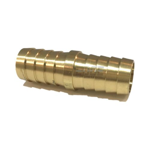 "3/4""  Hose Barb Mendor Union Splicer Brass Pipe Fitting Gas Fuel Water Air"
