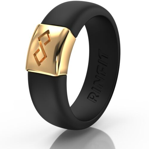 Unique Silicone Wedding Ring | Bands For Women Metainfinity Collection - Rinfit