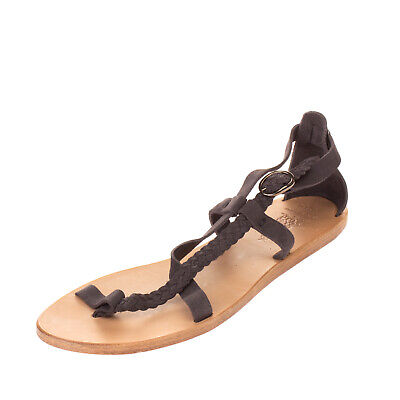 RRP €270 N.D.C. MADE BY HAND Leather Sandals Size 39 UK 6 US 9 HANDMADE Braided