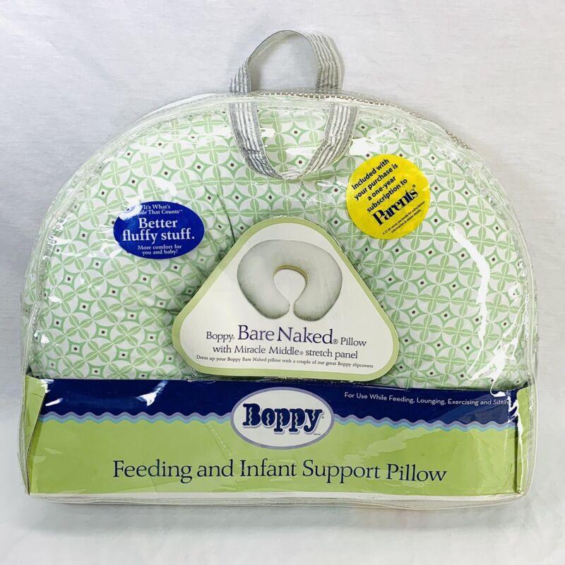 Boppy Bare Naked Nursing Feeding & Infant Support Pillow With Slipcover & Bag