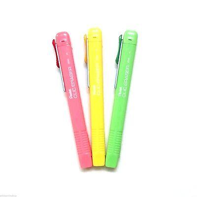 Pentel Click Eraser Ze80 Retractable Refillable Eraser