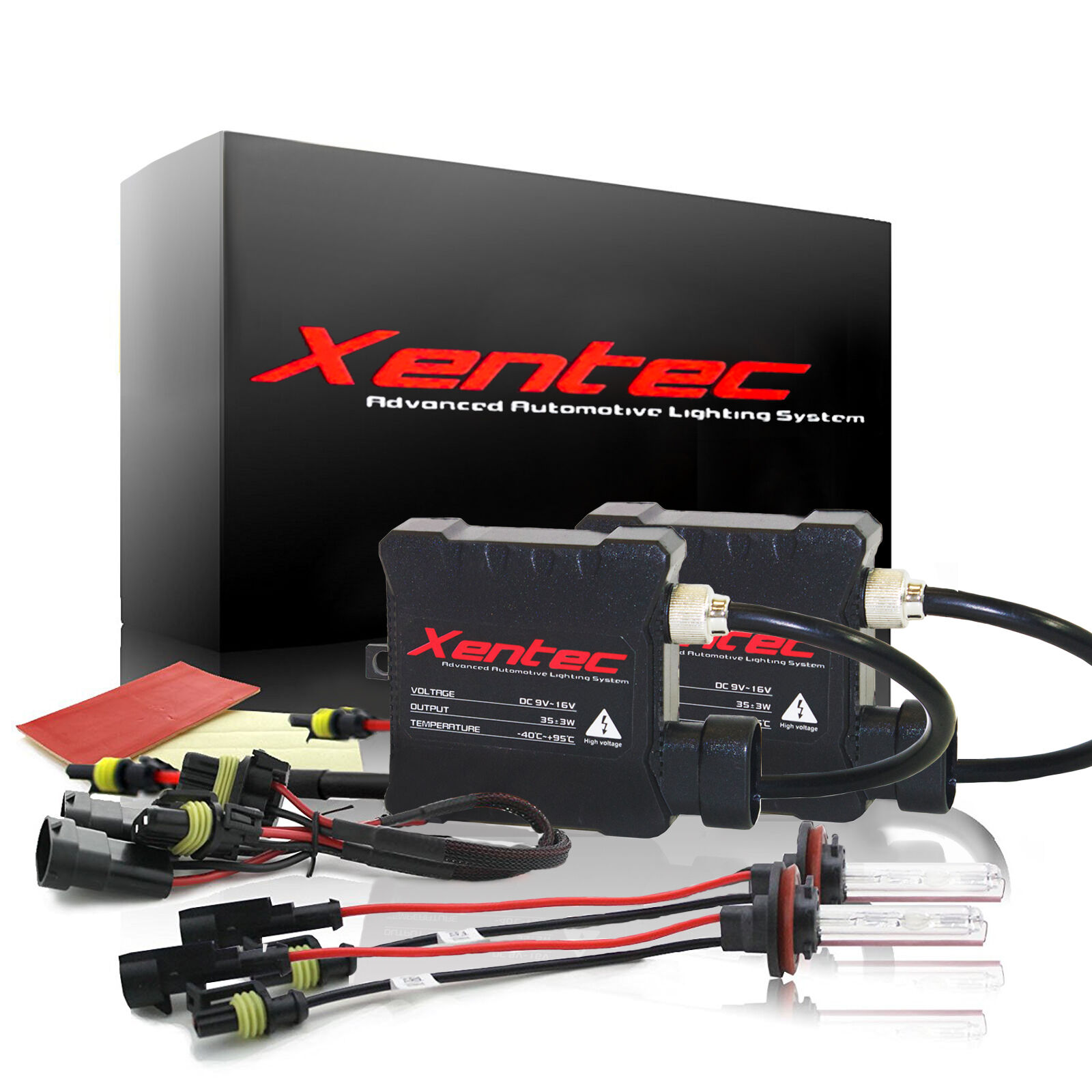 Xentec Xenon Lights HID Kit Slim 35W H1 H3 H4 H7 H10 H11 H13 9004 9005 9006 9007
