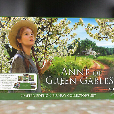 Limited Edition Anne of Green Gables Exclusive Blu-ray Bluray Collectors box set (Anne Of Green Gables)