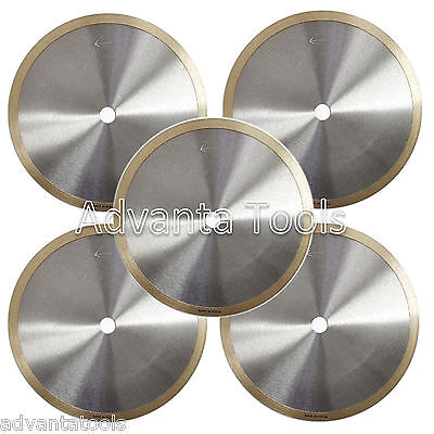 5pk 8 Supreme Wet Diamond Saw Blade For Porcelain Ceramic Tile Marble Granite