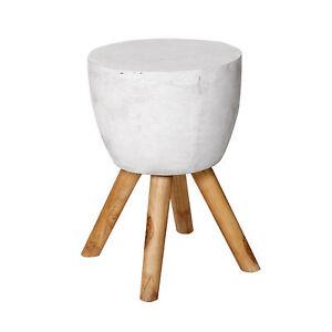 Tavolino tavolino da salotto sgabello legno teak for Tavolino sgabello