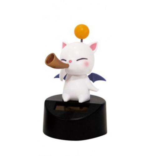 Final Fantasy XIV Moogle Music Band Curved Horn Mini Solar Figure NEW