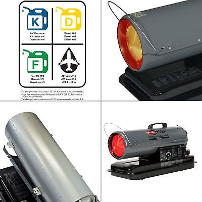 Dyna-Glo Delux KFA80DGD Kerosene, 80K BTU Forced air Heater,