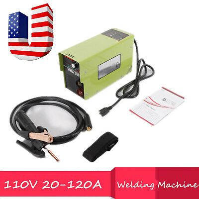 120a Digital Display Lcd Igbt Arc Welder Dc Inverter Welding Machine Dual Voltag
