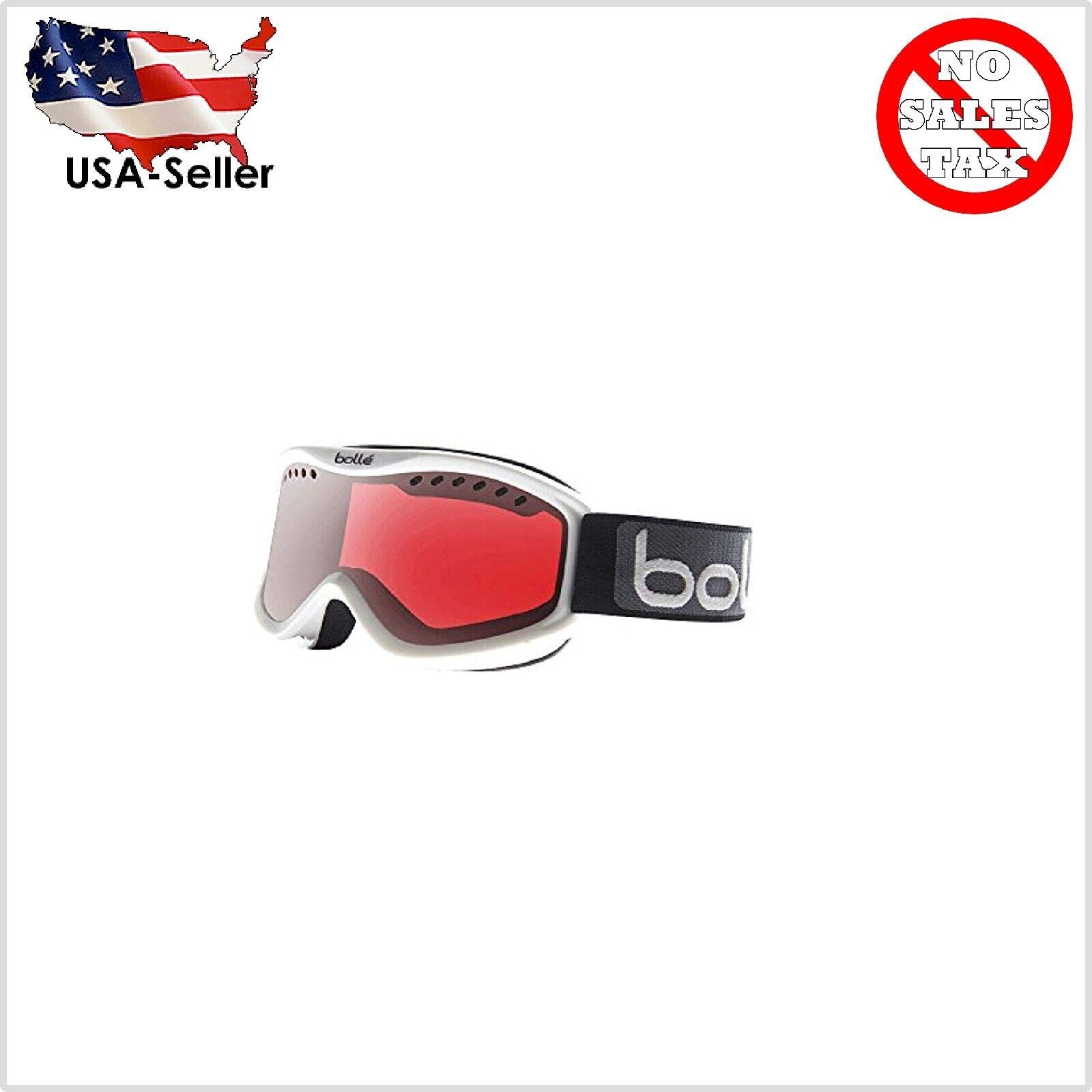 Ski Polarized Snowboard Goggles Men Women Anti Fog Shiny Whi
