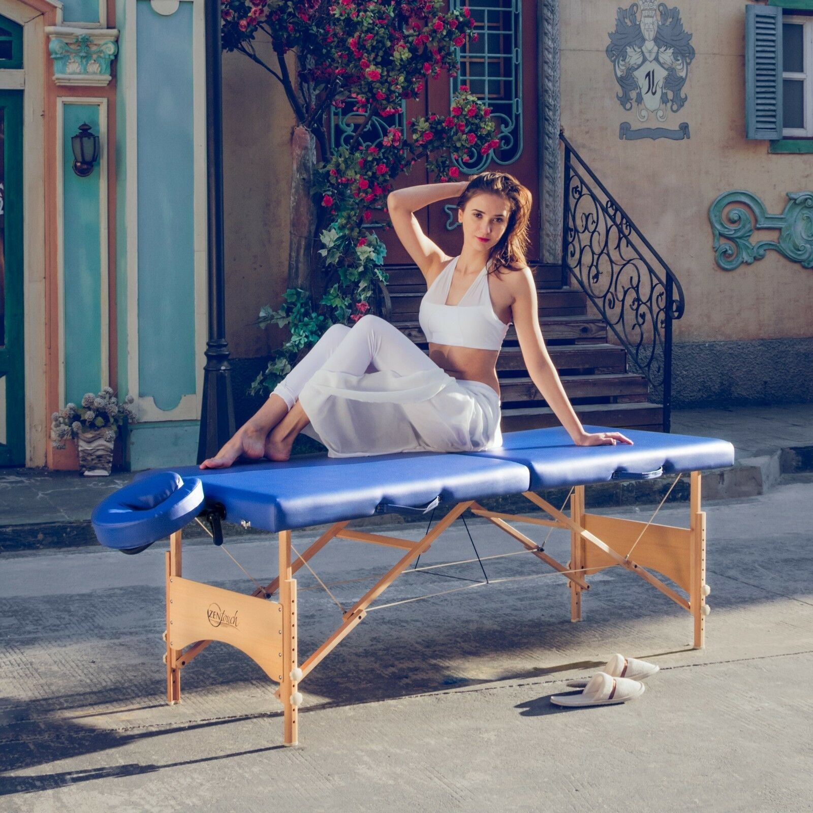 Master Massage Table Brady Portable Lightweight 28 inch Pack