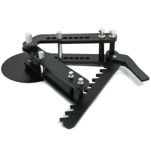 New Steel Black Oxide Coating Manual Pipe and Tube Bender Ratcheting style