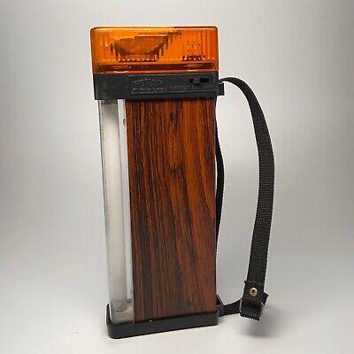 Vintage Eveready 3 Way Flashlight Flourescent Searchlight Flashers WORKS