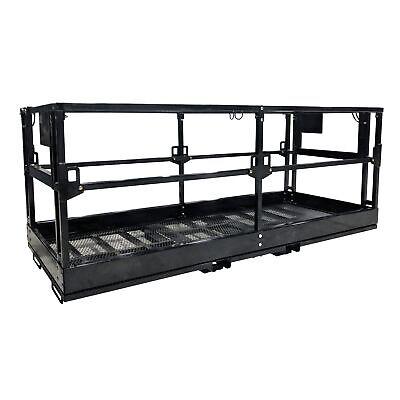 Titan Telehandler Safety Basket Forklift Attachment Safety Cage Work Platform