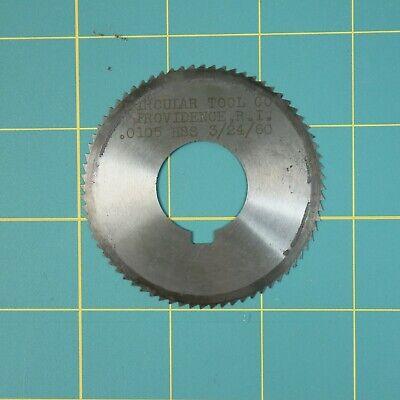 1one Slitting Slotting Saw Blade 0.0105 X 2-58 Hss Machinist Cutting Tool
