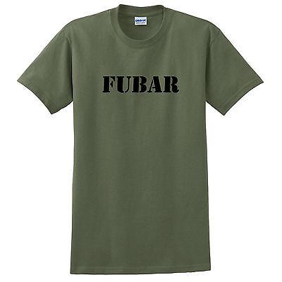 Fubar  Military T Shirt Free Ship 4 Colors S M L Xl 2X 3X 4X 5X