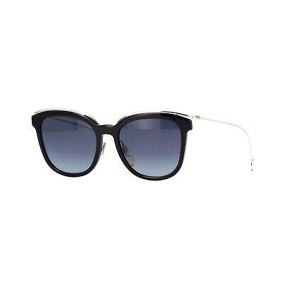 Christian Dior DIORBLOSSOMF CSA Damen Butterfly Sonnenbrille Schwarz Silber Grau