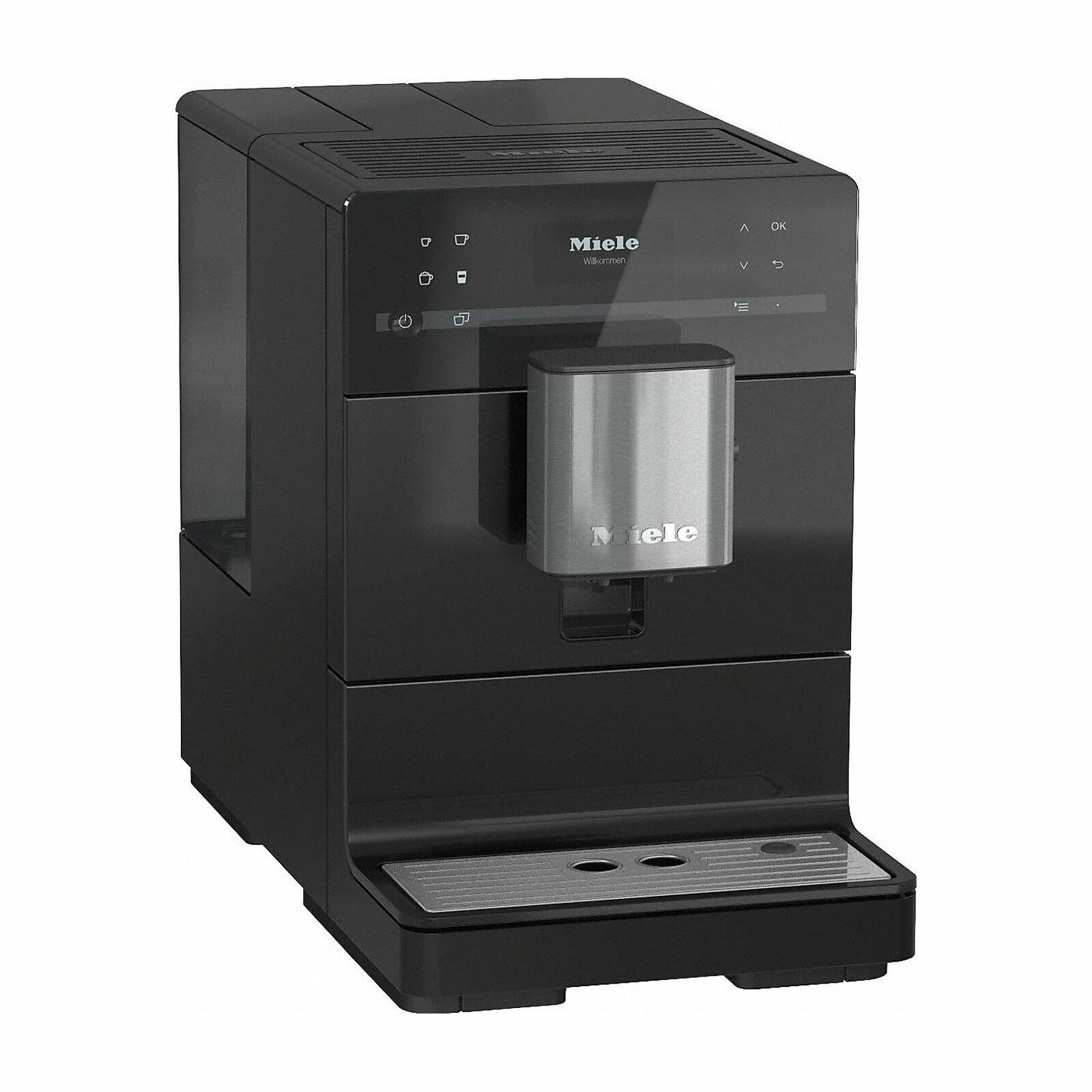 Miele CM 5310 OBSW Kaffeevollautomat Kaffeezubereitung mit Mahlwerk