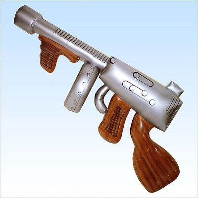 Aufblasbare Maschinenpistole ca.90cm Gewehr Maschinengewehr aufblasbar MPI - Aufblasbare Pistole