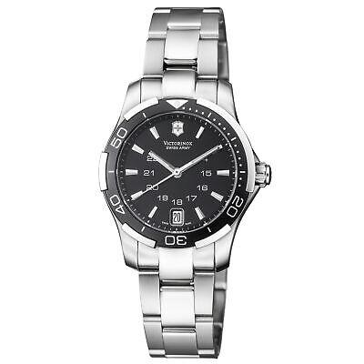 Victorinox Alliance Sport Quartz Movement Black Dial Ladies Watch 241305