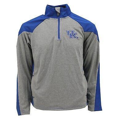 Kentucky Wildcats NCAA Official Youth Kids Size Athletic Light Quarter Zip New Kentucky Wildcats Ncaa Light