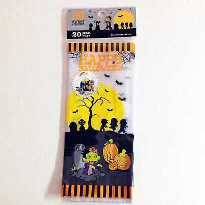 Halloween Sweet Bags (Happy Halloween Sweet Creations Treat Bags - Lot of 2 pkgs; 20 Bags)