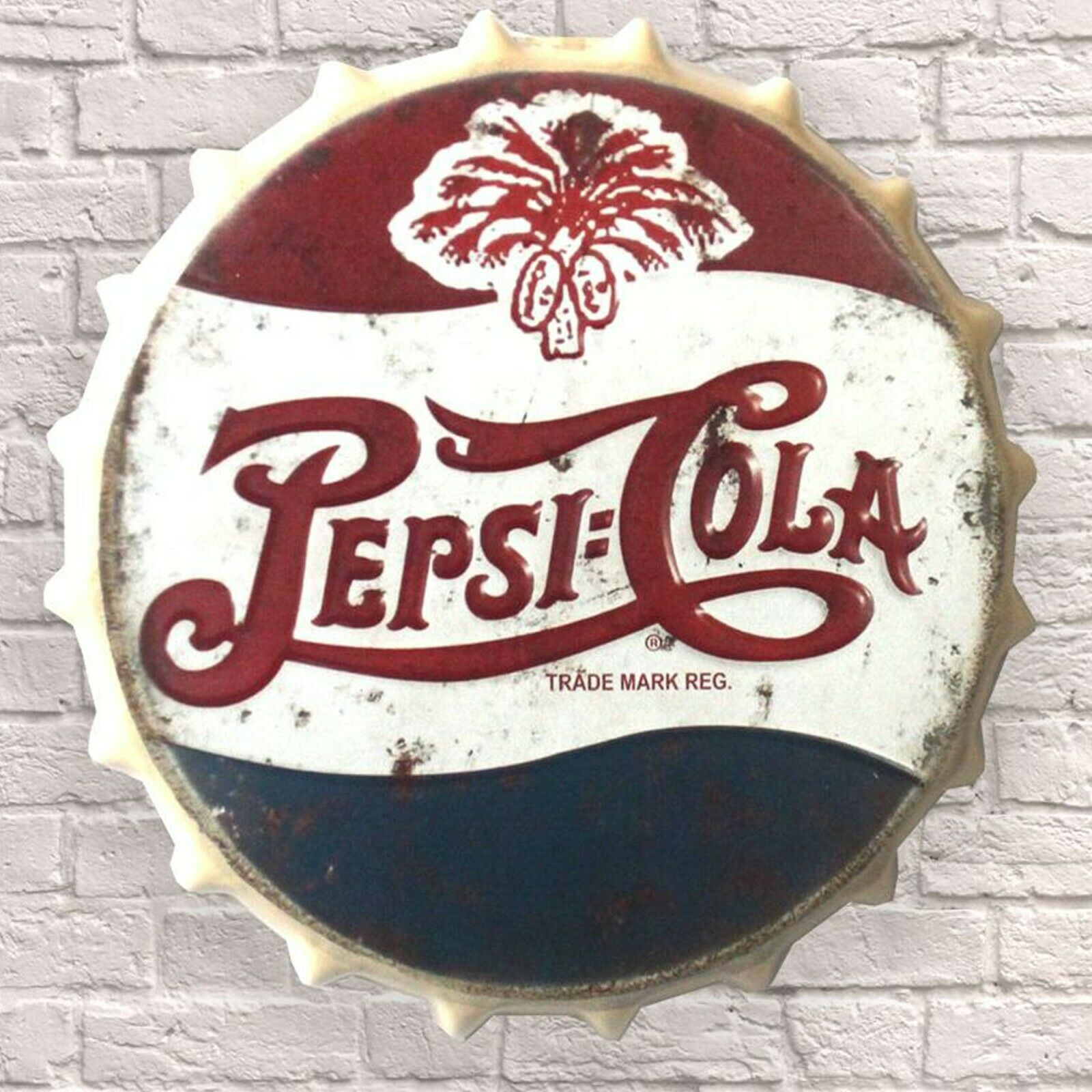 PEPSI COLA 1995 LOGO ON COLLECTOR MARBLE