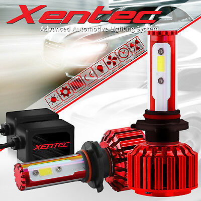 Xentec H11 195000LM LED Headlight Kits Bulbs H9 H8 6000K VS HID 35W