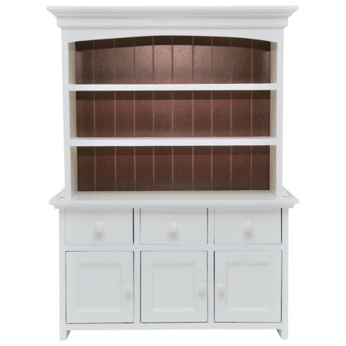 """FACTORY 2ND! Queens Treasures 18"""" Doll KITCHEN CUPBOARD HUTCH  For American Girl"""