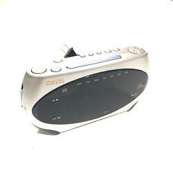 Emerson Research Digital Dual Alarm AM/FM Clock Radio CKS1862 Used