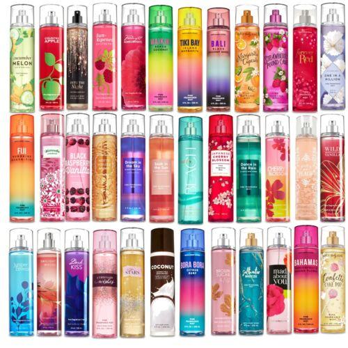 Bath & Body Fragrance Mist, Lotion, Cream or Bath Gel Choose Scent FULL SIZE