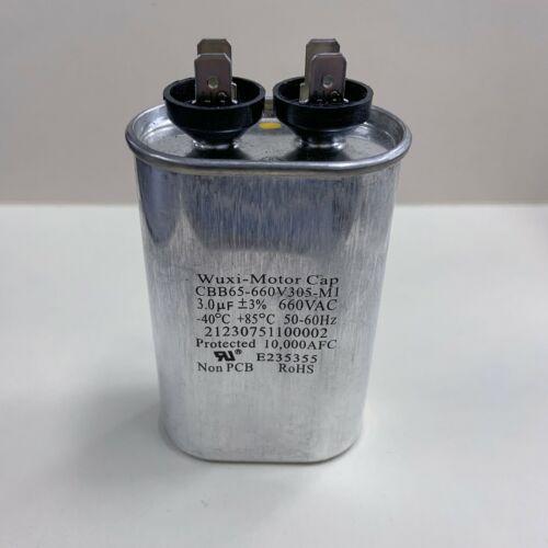 CBB65-660V305-M1 3 uF 660 VAC Motor Capacitor 21230751100002 FAST SHIP!!!