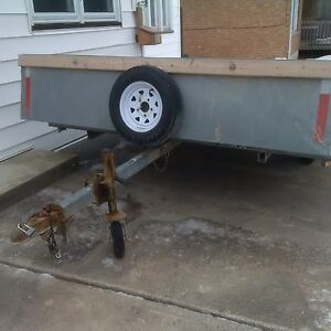 Hyland Double Tilt Snowmobile Trailer