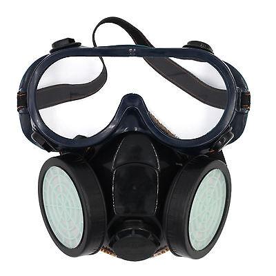 Atemschutzmaske Staubmaske Schutzmaske Atemmaske mit Schutzbrille