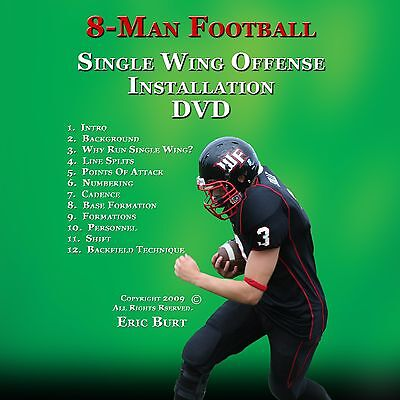 8 Man Football Single Wing Installation DVD (Wildcat)