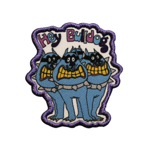 The Beatles Yellow Submarine Sub Hey Bulldog Printed Sew On Patch -  074-W