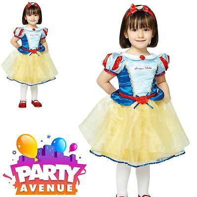cess Snow White Deluxe Baby Toddler Fancy Dress Costume (Deluxe-baby Kostüme)