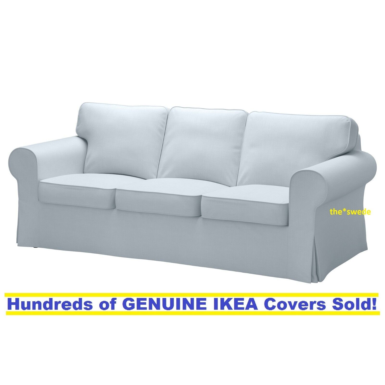 Parts of IKEA EKTORP Loveseat Cover Jonsboda Blue One Slipcover part see select