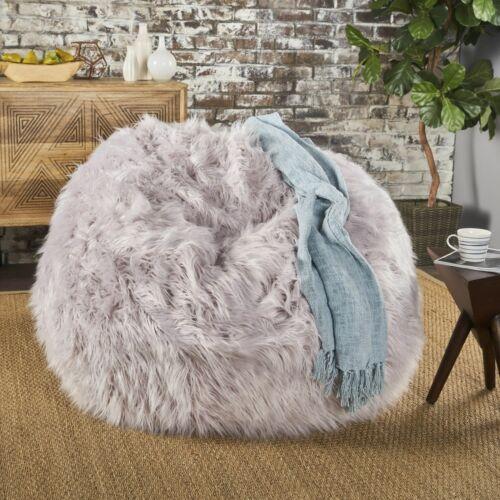 Lycus Faux Fur Bean Bag Chair Bean Bags & Inflatables