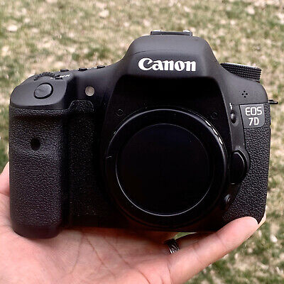 Canon EOS 7D 18.0MP Digital SLR Camera Body and Canon 430EX Speedlite.